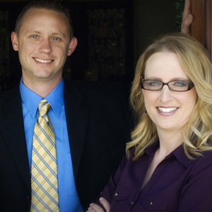 Kristi Cirtwill and Evan Younger