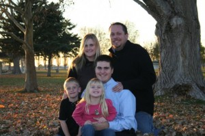 Shawn Watkins and Family
